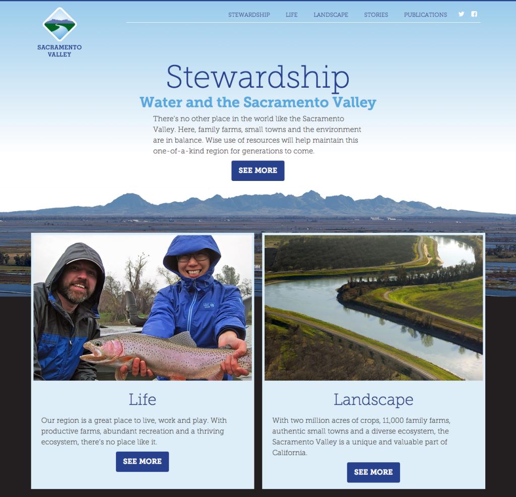 New Website will amplify Sacramento Valley Communications
