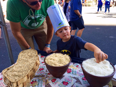 California Rice shines at huge Sacramento event