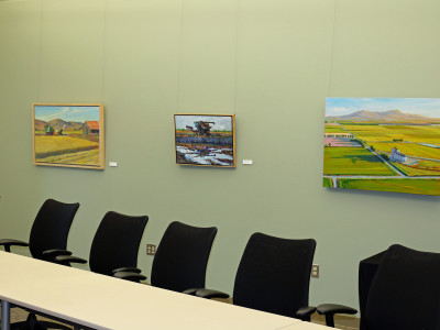 Three-month showing for California Rice Art