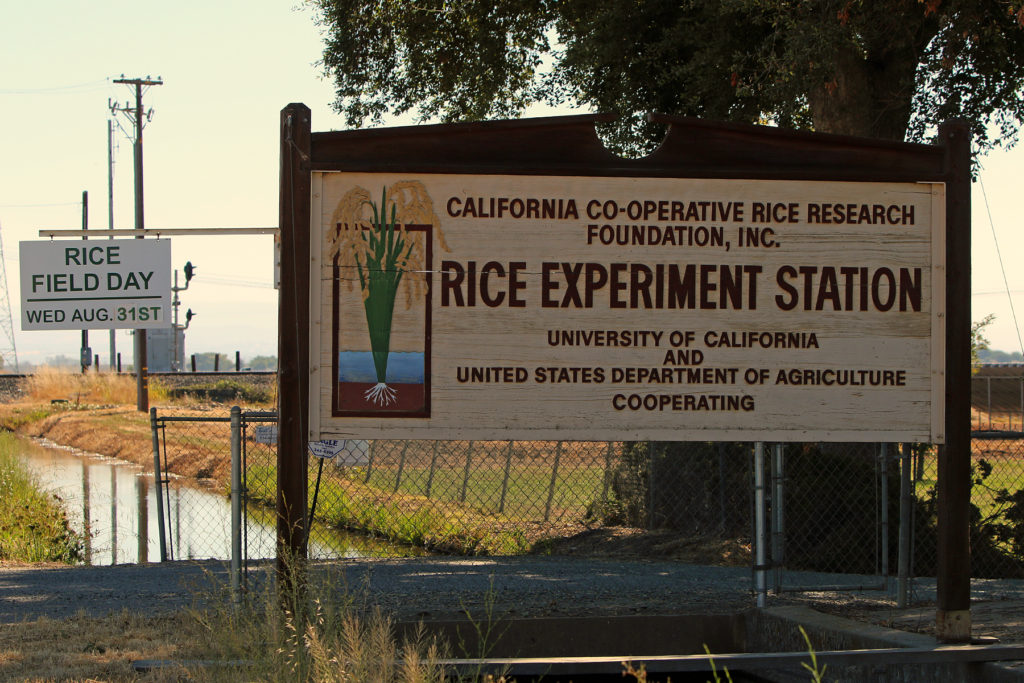 More details available on 2016 California Rice Field Day