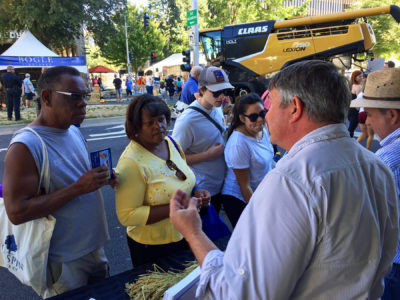 California Rice prominent at Farm to Fork Festival