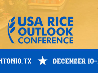 Registration open for 2017 USA Rice Outlook Conference