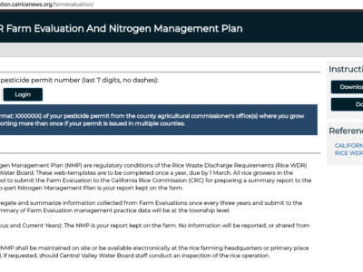 Farm Evaluation/Nitrogen Management Plan Reporting Deadlines