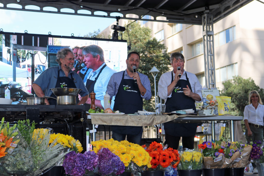 California Rice shines at the Farm to Fork Festival