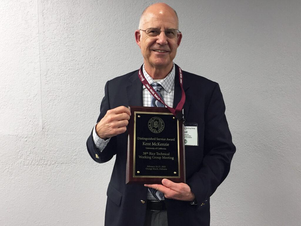 McKenzie wins prestigious award