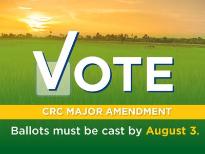 One Week Left – VOTE!