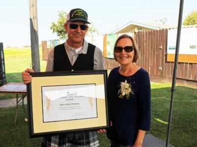McKenzie wins prestigious award at California Rice Field Day